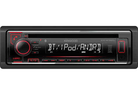 Kenwood KDC 520U Car Radio/CD/MP3/Aux/Aac/Bluetooth/iPhone/Android Stereo Player Thumbnail 3