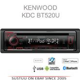 Kenwood KDC 520U Car Radio/CD/MP3/Aux/Aac/Bluetooth/iPhone/Android Stereo Player