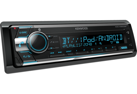 Kenwood Car Stereo|Radio|FLAC|USB|AUX|Bluetooth|iPod-iPhone-Android|Illumination Thumbnail 2