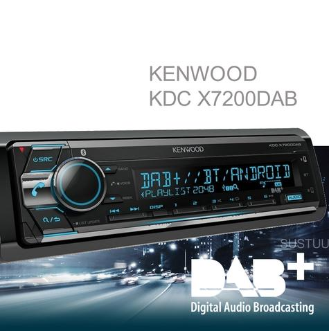 Kenwood Car Stereo|DAB+|FLAC|USB|AUX|Bluetooth|iPod-iPhone-Android|Illumination Thumbnail 1
