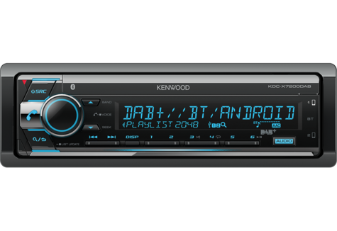 Kenwood Car Stereo|DAB+|FLAC|USB|AUX|Bluetooth|iPod-iPhone-Android|Illumination Thumbnail 3