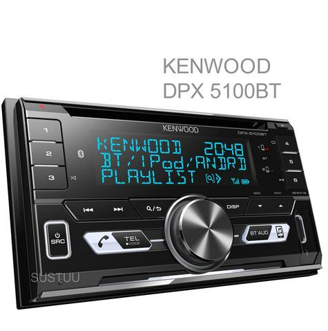 Kenwood Car Stereo|2DIN|FLAC|USB|AUX|Bluetooth|iPod-iPhone-Android|Illumination Thumbnail 1