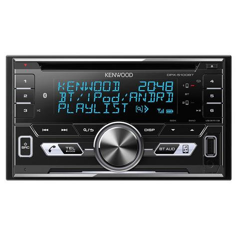 Kenwood Car Stereo|2DIN|FLAC|USB|AUX|Bluetooth|iPod-iPhone-Android|Illumination Thumbnail 2