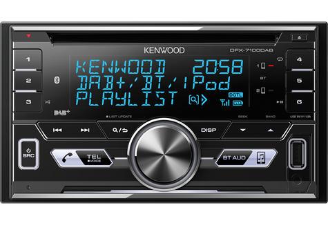 Kenwood Car Stereo|2DIN DAB+ Radio|MP3|USB|Bluetooth|iPod-iPhone-Android|Illumin Thumbnail 2