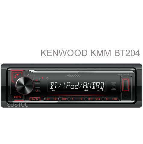 Kenwood Car Stereo|Radio|FLAC|USB|AUX|Bluetooth|iPod-iPhone-Android|Illumination Thumbnail 1