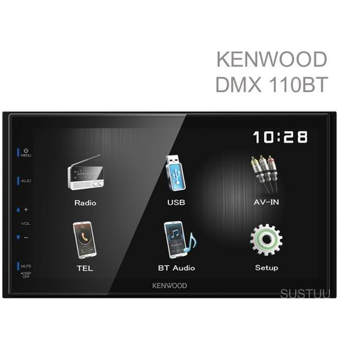 Kenwood Digital Media Receiver CarStereo|Radio|USB|Bluetooth|iPod-iPhone-Android Thumbnail 1