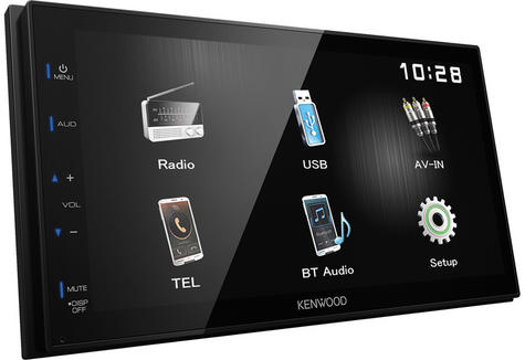 Kenwood Digital Media Receiver CarStereo|Radio|USB|Bluetooth|iPod-iPhone-Android Thumbnail 3