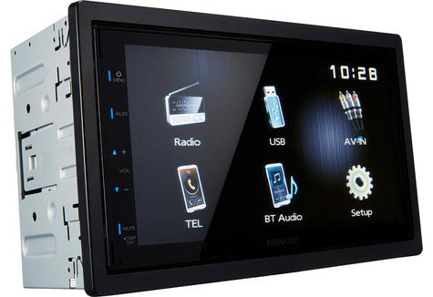 Kenwood Digital Media Receiver CarStereo|Radio|USB|Bluetooth|iPod-iPhone-Android Thumbnail 4
