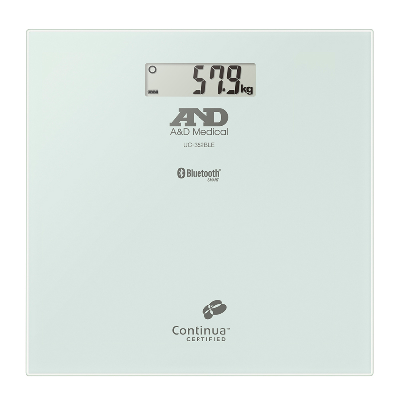 A&D Medical UC352BLE 200 KG Precision Body Weight Scale-Bluetooth Connectivity