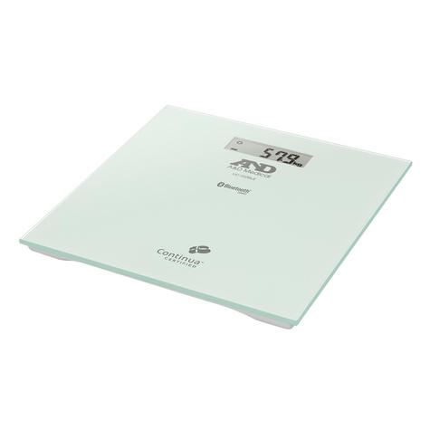 A&D Medical UC352BLE 200 KG Precision Body Weight Scale-Bluetooth Connectivity Thumbnail 2