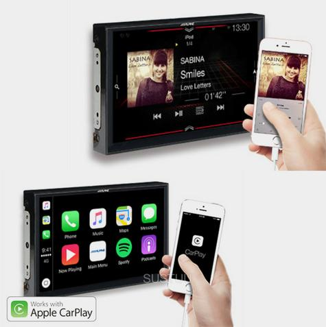 "Alpine X902D F|9"" In Car Stereo + GPS SatNav