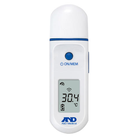 A&D Medical UT801 Non Contact Digital Infrared Lightweight Thermometer Thumbnail 2