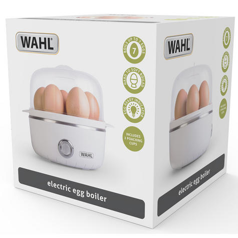 Wahl ZX945 Non Stick Electric Egg Boiler & Poacher|Hard to Soft Boiled|White|New Thumbnail 3