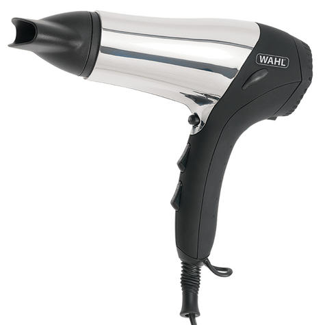 Wahl ZX573 Chrome Ionic Hair Dryer With Soft Touch Grip & cool Shot Button-2000W Thumbnail 2