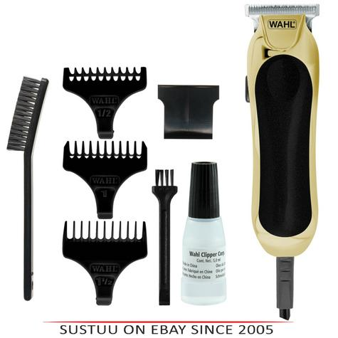 Wahl 9307-317 T-Blade Compact Mains Trimmer|Hair Clipper|Diamond Finished|Gold Thumbnail 1