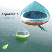 Aquamate Solar Still Seawater Into Drinking Water Purification Maker|For Marine