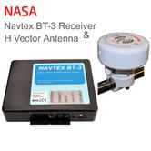 NASA Marine BT3 Bluetooth Navtex Recceiver with H Vector Antenna & 7m Cable | 12v
