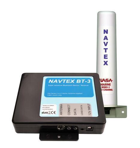 NASA Marine BT3 Bluetooth Navtex Recceive with Marine Series 2 Antenna In Marine Thumbnail 2