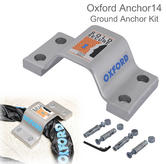 Oxford Anchor14 - Ground Anchor Kit for Cycle Bicycle Bike | Fits All Oxford Chain