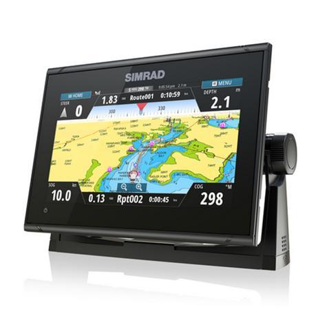 "Simrad GO9 xse Multi Touch Chartplotter-9"" & 4G Broadband Radar|GPS/Sonar/C-MAP Thumbnail 4"