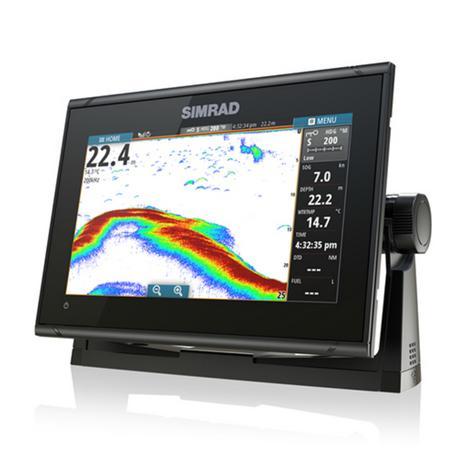 "Simrad GO9 xse Multi Touch Chartplotter-9"" & 4G Broadband Radar|GPS/Sonar/C-MAP Thumbnail 5"