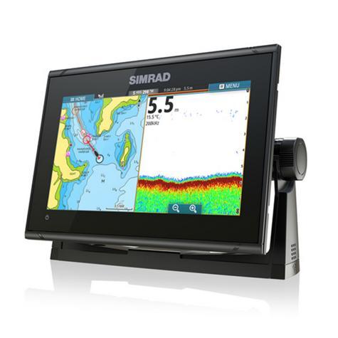 "Simrad GO9 xse Multi Touch Chartplotter-9"" & 4G Broadband Radar|GPS/Sonar/C-MAP Thumbnail 6"