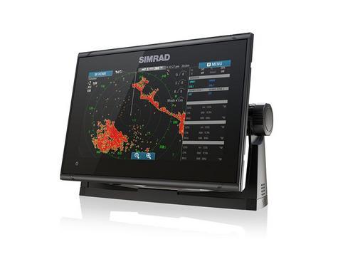 Simrad GO9 xse Multi Touch Chartplotter Marine 3G Brodband Radar & Totalscan Txd Thumbnail 3