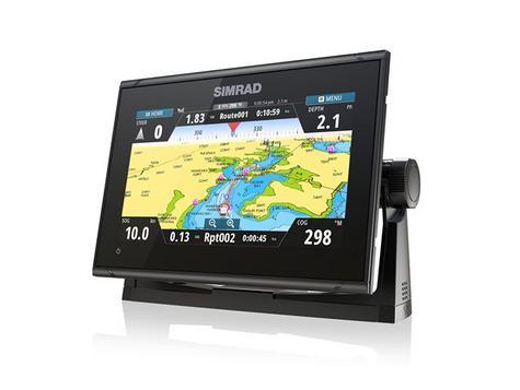 Simrad GO9 xse Multi Touch Chartplotter Marine 3G Brodband Radar & Totalscan Txd Thumbnail 4