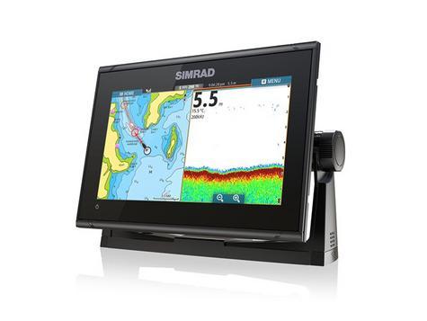 Simrad GO9 xse Multi Touch Chartplotter Marine 3G Brodband Radar & Totalscan Txd Thumbnail 6