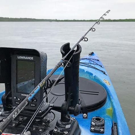 Railblaza StarPorts Rod Tube Only|Adjustable|Removable|For Boats Kayaks|Black Thumbnail 6