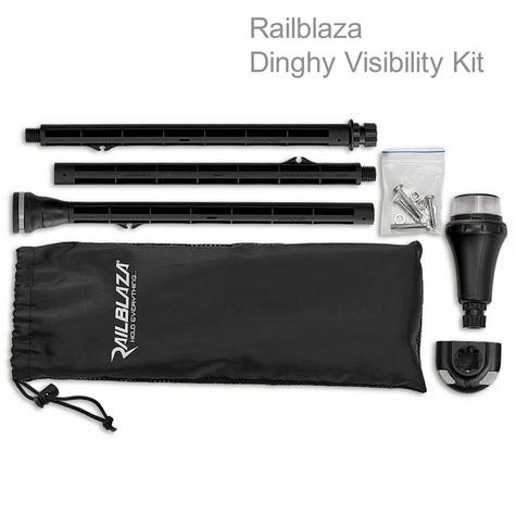 Railblaza Dinghy Visibility Kit|Extenda Pole|Illuminate Round LED|For Kayak/ Fishing Thumbnail 1