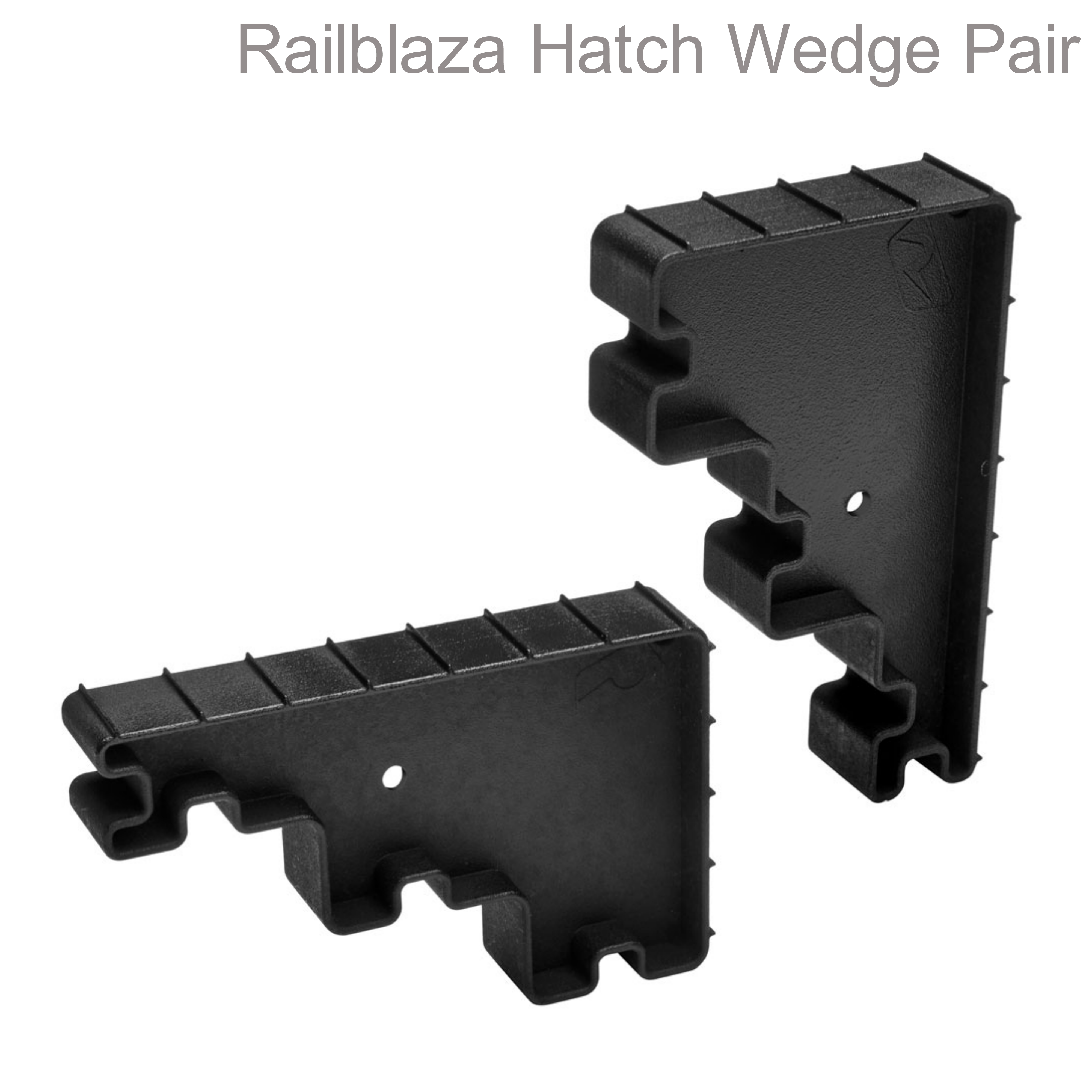 """Railblaza-09000611 Hatch Wedge - Pair 4 Different Height Hold Gaps 1 / 2 / 3 & 5"""" Black"""