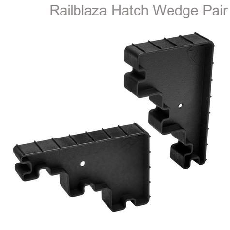 Railblaza-09000611|Hatch Wedge - Pair|4 Different Height Hold|Gaps 1 / 2 / 3 & 5"