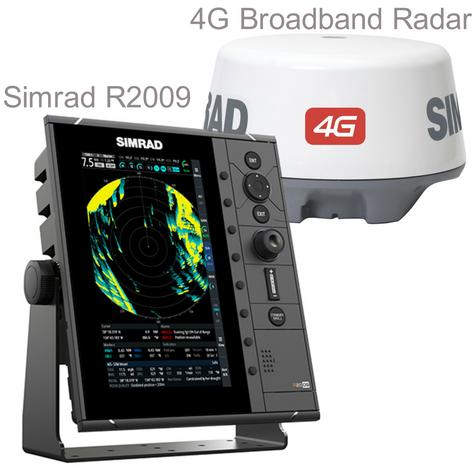 "Simrad-R2009 HD Radar Control Unit - 9"" & 4G Broadband Kit|GPS/AIS|Dual NMEA|RI-10 Interface|IPX7 Thumbnail 1"