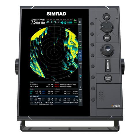 "Simrad-R2009 HD Radar Control Unit - 9"" & 4G Broadband Kit|GPS/AIS|Dual NMEA|RI-10 Interface|IPX7 Thumbnail 4"