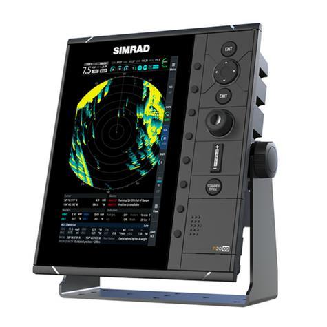 "Simrad-R2009 HD Radar Control Unit - 9"" & 4G Broadband Kit|GPS/AIS|Dual NMEA|RI-10 Interface|IPX7 Thumbnail 6"