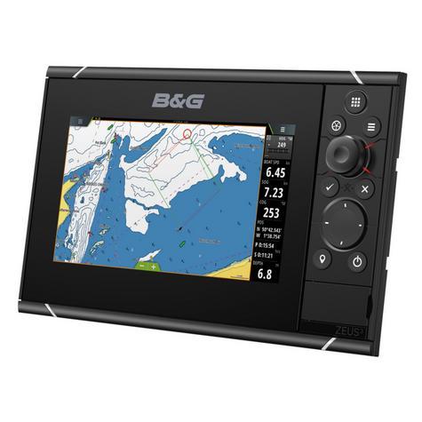 "B&G Zeus3 -7""|MFD Chartplotter|HD World Base Map|GPS|WiFi|For Cruisers & Racers Thumbnail 3"