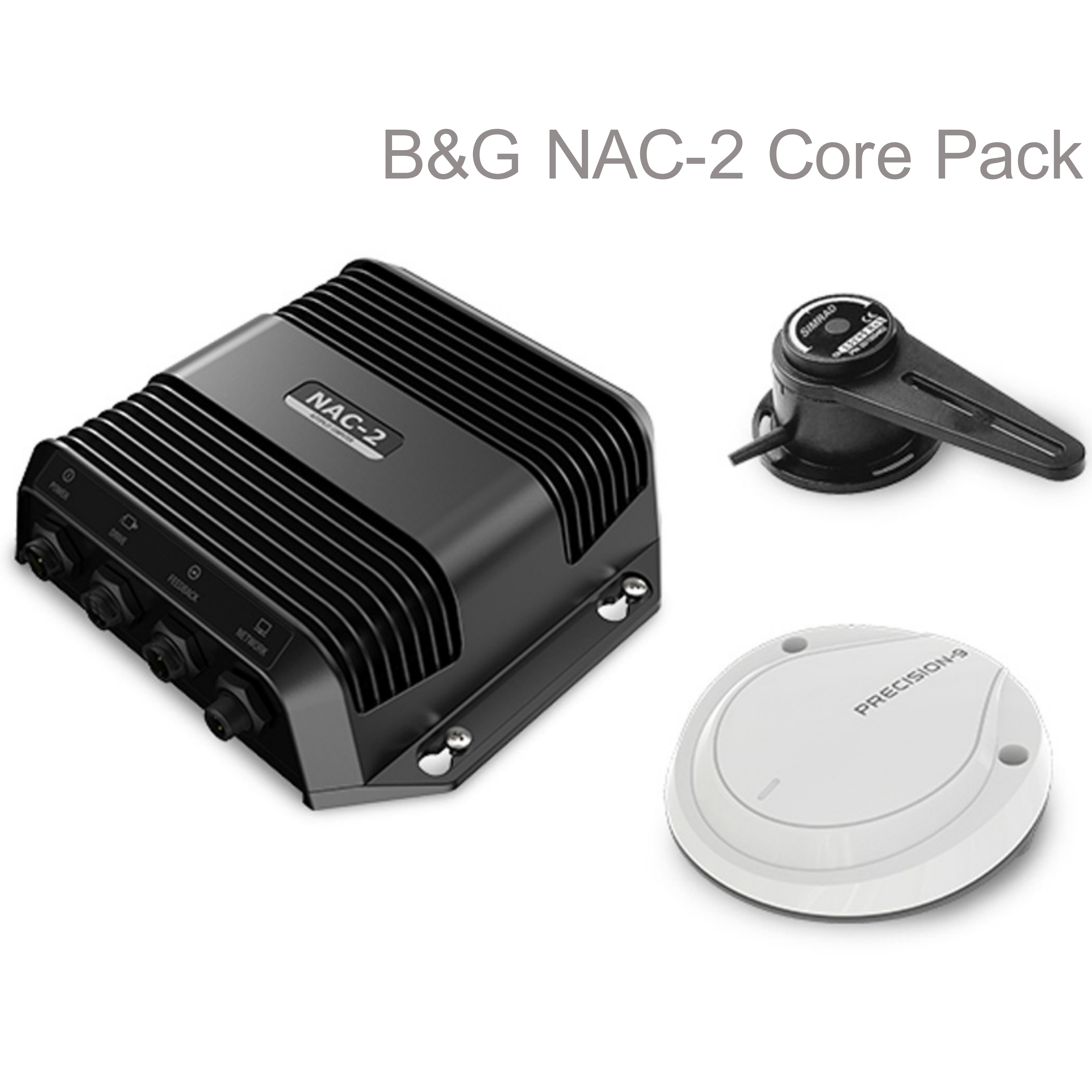 B&G 00013335001|NAC-2 Core Pack - Precision-9 & RF300 Rudder|Autopilot & Compass