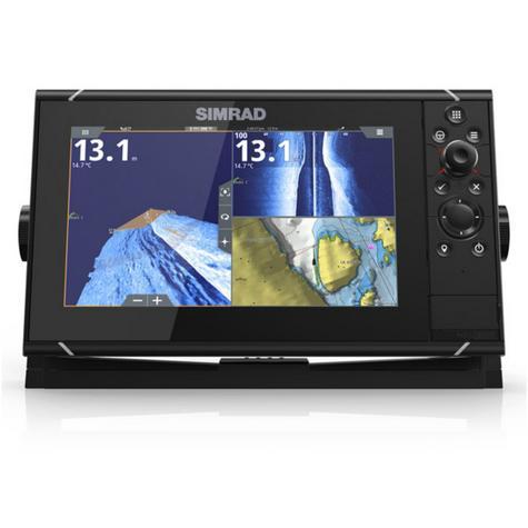 "Simrad NSS9 evo3 Combo HD MFD- 9"" & 4G Broadband Radar|GPS|CHIRP/Sonar/CMAP|Wi-Fi Thumbnail 3"