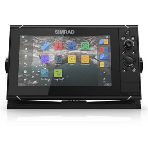 "Simrad NSS9 evo3 Combo HD MFD- 9"" & 4G Broadband Radar|GPS|CHIRP/Sonar/CMAP|Wi-Fi Thumbnail 5"