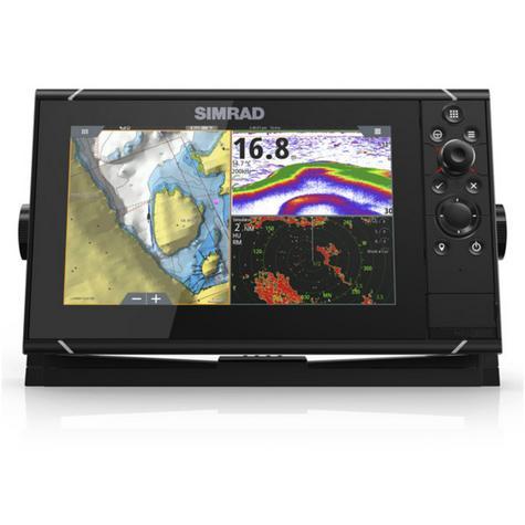 "Simrad NSS9 evo3 Combo HD MFD- 9"" & 4G Broadband Radar|GPS|CHIRP/Sonar/CMAP|Wi-Fi Thumbnail 6"