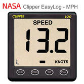 NASA Marine Clipper EasyLog - MPH | Speed & Distance System | Use For Marine/ Boats