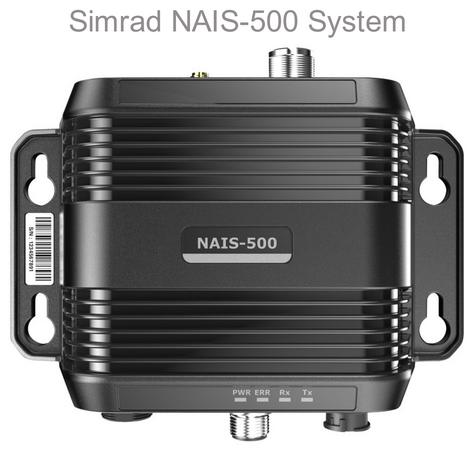 Simrad 00013609001|NAIS 500 Class-B AIS|W/ GPS-500 Antenna|Multiple Networking|IPX7|For Marine Thumbnail 1