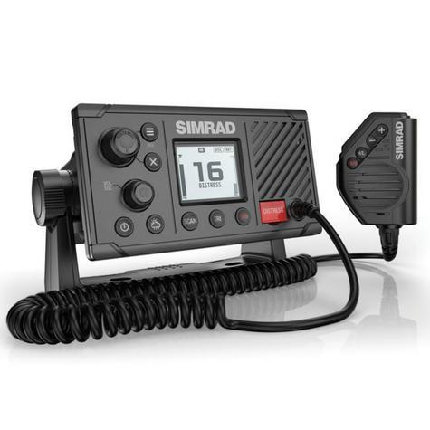 Simrad RS20 Marine VHF LCD Radio|Class D DSC|Rotary & Keypad Controls|NMEA 2000 Thumbnail 3