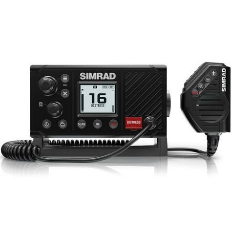 Simrad RS20 Marine VHF LCD Radio|Class D DSC|Rotary & Keypad Controls|NMEA 2000 Thumbnail 2