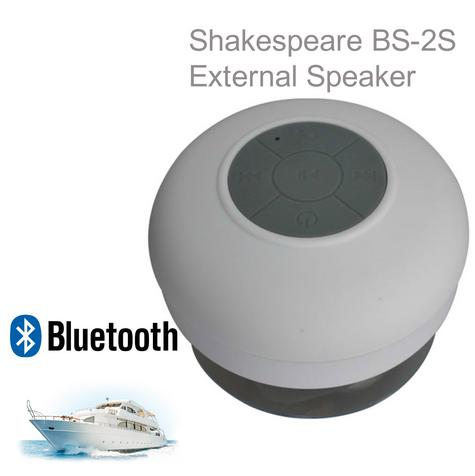 Shakespeare-BS-2S|5.71cm External Speaker|Waterproof|Bluetooth|Ideal For Marine Thumbnail 1