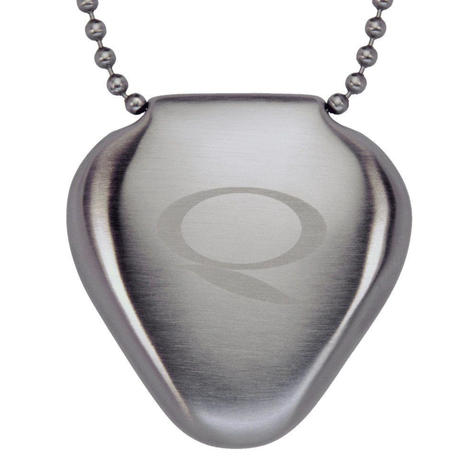 Q-Link SRT-3 Triangle Stainless Steel Pendant   Personal Energy System   Waterproof Thumbnail 3