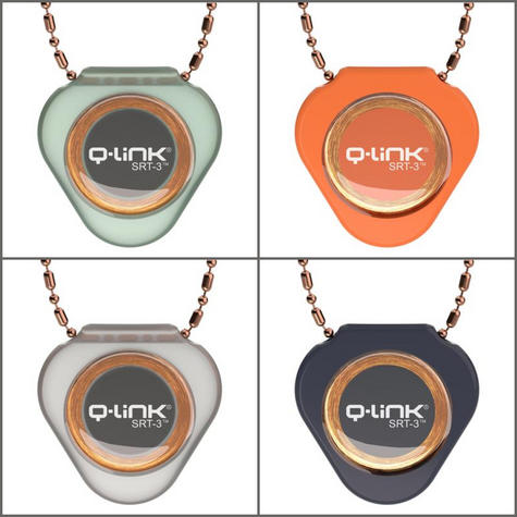 "Q-Link Copper Bead-Bar Chain 30""|Non-Corrosive|for All Pendants Except Titanium Thumbnail 3"