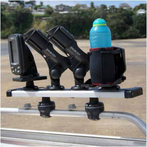 Railblaza-03410711|TracPort Dash|2000 mm|4 StarPort|For Mounting|kayak & Boats Thumbnail 2