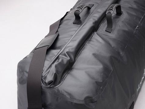 HandiWorld HandiDuffel 95|20kg Load Capacity|Polyester Tarpaulin Material|-Black Thumbnail 2